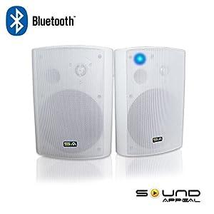 Amazon Com Wireless Outdoor Speakers Bluetooth 6 50