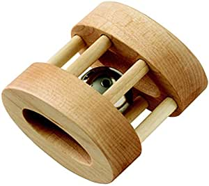 Maple Landmark Wood - Natural Oval Bell Rattle
