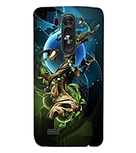 ColourCraft Abstract image Design Back Case Cover for LG G3 BEAT