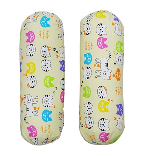 WonderKids Cat Print Bolster
