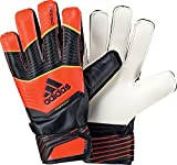 Adidas Predator Fingersave Junior Kinder Torwart Handschuhe solar red-black-solar gold - 6