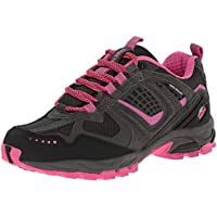 Pacific Trail Cinder Trail-Running Womens Shoes - Gray/Pink