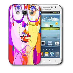Snoogg Girl With Specks Designer Protective Back Case Cover For Samsung Galaxy Win i8552