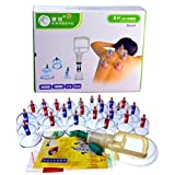 Kangzhu 24-Cup Biomagnetic Chinese Cupping Therapy Set