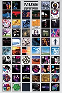 "Muse - Music Poster (Discography) (Size: 24"" x 36"")"