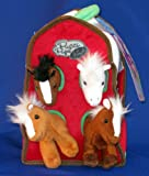 Pucci Pups and Friends - Plush Pony Barn
