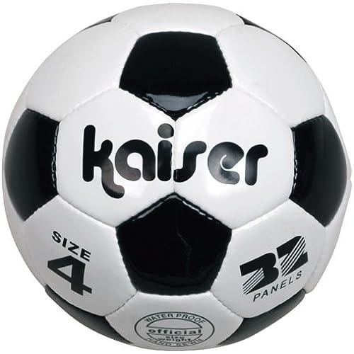 kaiser(kaiser) PVC 축구 볼 4호 KW-140 초등학생용 연습용 공기 만들어 넣음(담는 그릇·상자 등) 레져 패밀리 스포츠-KW-140 (2012-04-05)