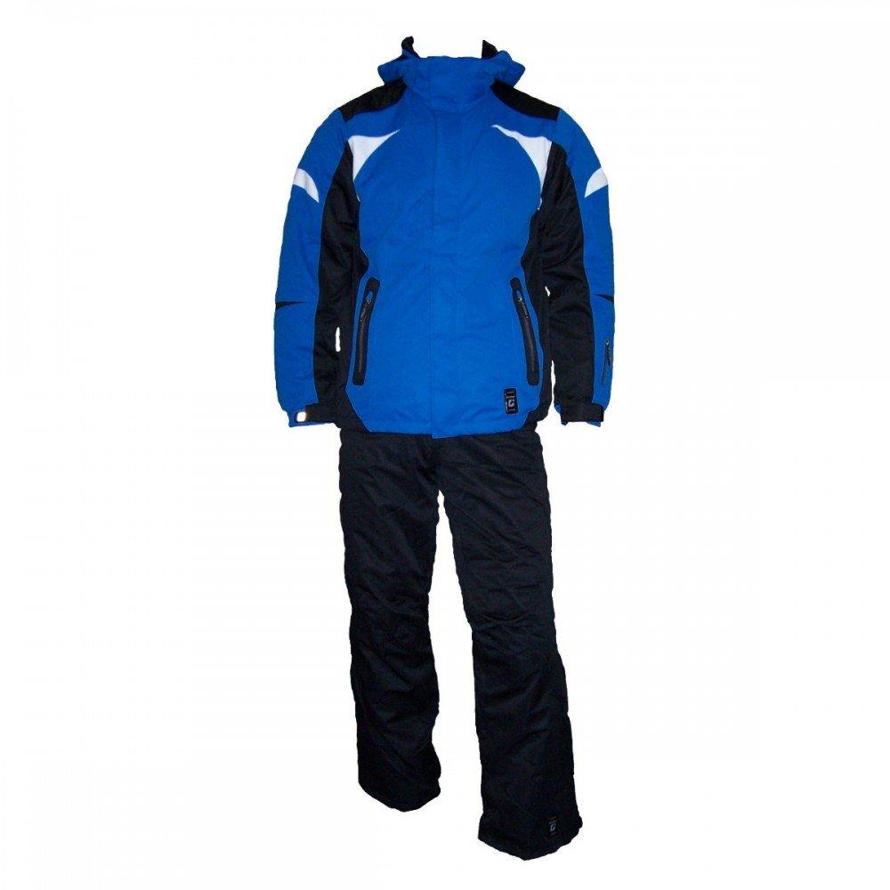 Killtec Conor Jr Kids Kinder Skiset bestehend aus Skijacke und Skihose,blau-schwarz, Größe 128 bis 176 kaufen