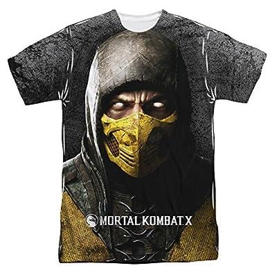 Mortal Kombat X Finish Him All Over Front T-Shirt
