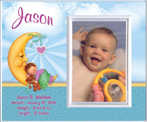 Baby Girl Photo Birth Announcements front-591283