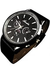 Youyoupifa NEW Version Stainless Steel Quartz PU Strap Unisex Watch NBW0FA5326-SS3