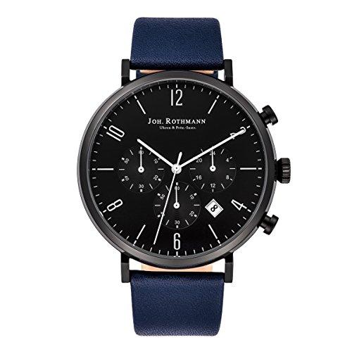 Joh. Rothmann Men's Watch Karl Chronograph stainless steel 5 ATM BLU 10030042