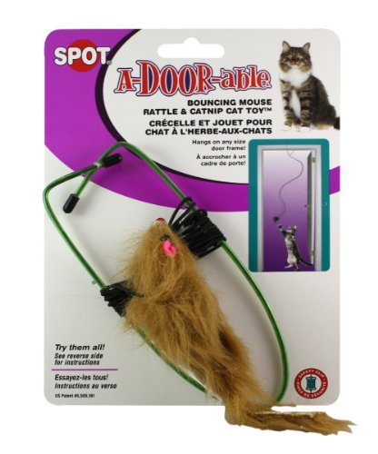 A-Door-Able-Bouncing-Mouse-Cat-Toy