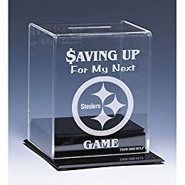 Pittsburgh Steelers NFL Coin Bank