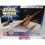 ERTL Star Wars Episode I Naboo Starfighter Die Cast Model Kit 1:48