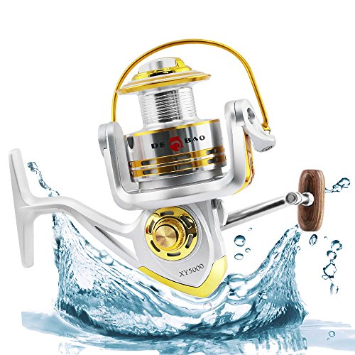 Perfect for Saltwater & Freshwater Spinning Ice Surf Fishing