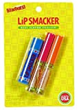 Lip Smacker Liquid Lip Gloss Candy Flavor Tropical Fruit Starburst 3 Pack