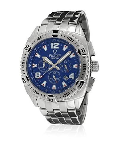b1714f57ad70 ... Victory Reloj V-Adventurer Azul   Plateado