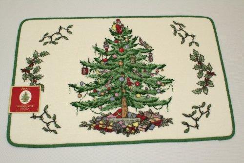 Christmas Tree Spode Bath Rug