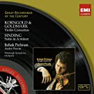 Korngold / Goldmark : Violon concertos Sinding : Suite in A minor
