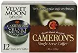 Camerons Velvet Moon Espresso Roast Single Serve Coffees,  12-Count