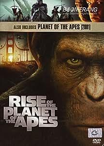 amazoncom rise   planet   apes  planet   apes  dvd  pack