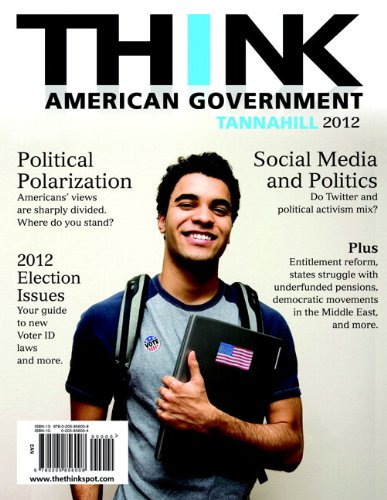 THINK: American Government 2012 Plus MySearchLab with eText -- Access Card Package (4th Edition)