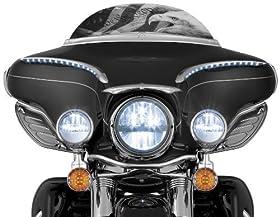 """Kuryakyn Phase 7 4-1/2"""" LED Passing Lamps 2005+ Harley 2247"""