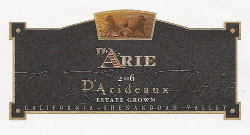 2006 C.G. Di Arie Cellar Select Wines D'Arideaux 750Ml