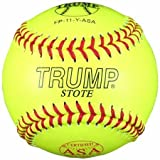 Trump® FP-11-Y-ASA 11 Inch Leather .47 Core NFHS Approved Fastpitch ASA Softball (Sold in Dozens)