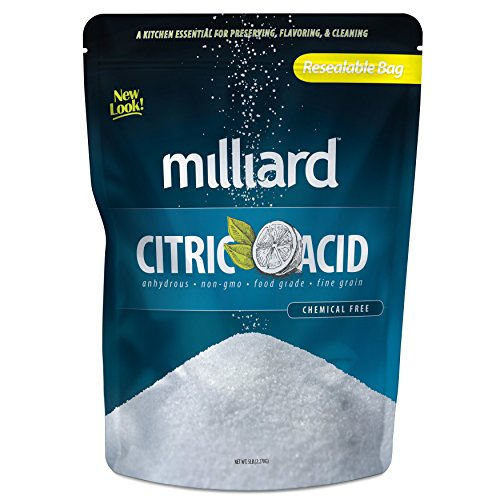 Milliard Citric Acid - 5 Pound - 100% Pure Food Grade NON-GMO (5 Pound) (Ascorbic Acid Canning compare prices)