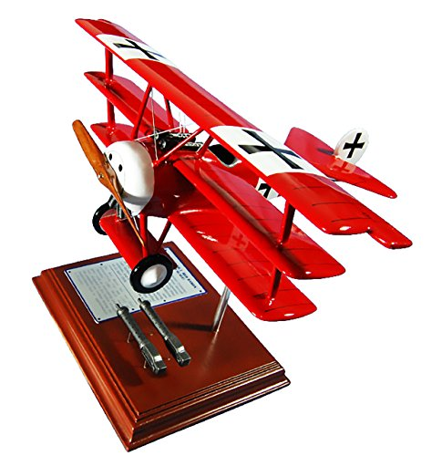 Mastercraft-Collection-Planes-and-Weapons-Series-Fokker-Triplane-Red-Baron-Model-Scale122