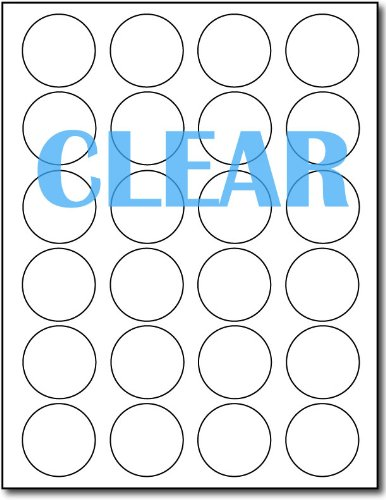 Crystal Clear Labels 1 2/3