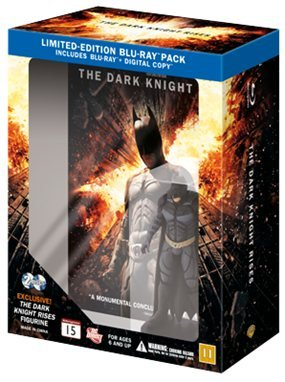 El Caballero Oscuro: La Leyenda Renace (Batman: The Dark Knight Rises) Limited Edition Figurine (Blu-ray + Digital Copy) (Escandinavos Edición) (Lengua español y subtítulos en español)