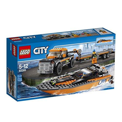 レゴ シティ パワーボートと4WDキャリアー 60085