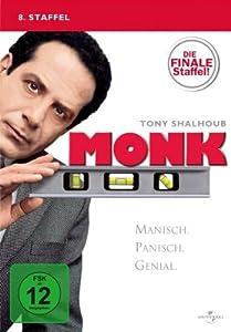 Monk - 8. Staffel: Die finale Staffel! [4 DVDs]