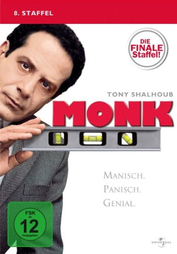 Monk - 8. Staffel: Die finale Staffel! [4 DVDs]