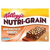 Kellogg's Ginger Nutri-Grain Elevenses Bars Ginger 6 x 45g Case of 4