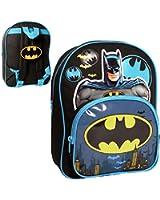 Batman Children's Backpack Batman Novelty Backpack 8.5 liters Black (Blue/Black) BATMAN001018