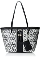 Nine West Printed-Square 9S Tote Bag