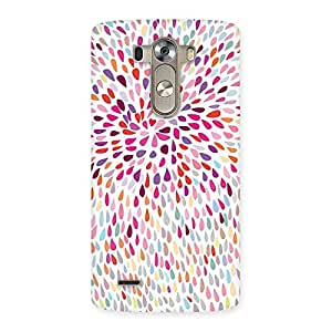Enticing Colorful Pattern Print Back Case Cover for LG G3