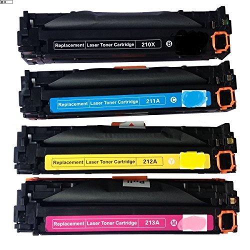Cool Toner CF210X CF211A CF212A CF213A (HP 131A) kompatibel toner für HP LaserJet Pro 200 color M251n M251nw, MFP M276n M276nw, K-2400/C-1800/M-1800/Y-1800 Seiten