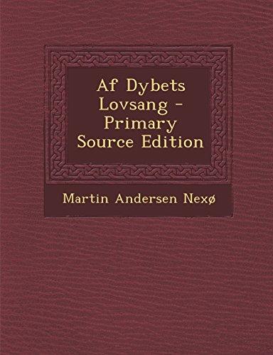 Af Dybets Lovsang - Primary Source Edition