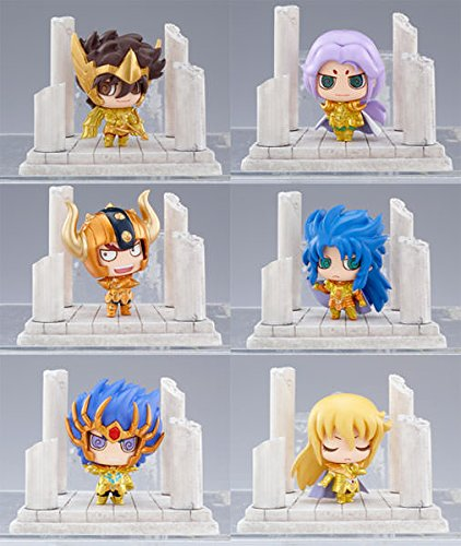 Saint Seiya: Twelve Golden Temples Petit Chara Land Mini PVC Figures (1 Random Blind Box)