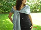SUMMER FANCY REGULAR SHAWL (Silver Grey)