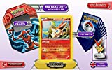 The metal box Victini holo 23/113 + 1 Optimized Booster of 20 english new common cards + a Victini figurine