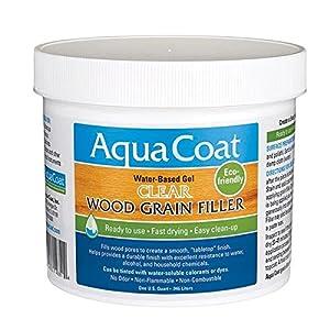 Aqua Coat Clear Wood Grain Filler Qt Amazon Com