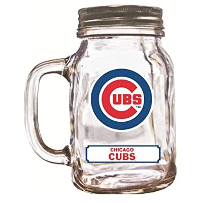 MLB Chicago Cubs Duckhouse 20 Ounce Mason Jar