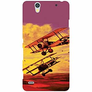 Printland Sony Xperia C4 Back Cover High Quality Designer Case