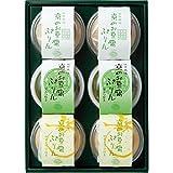 豆政 プリン 和菓子 セット 詰め合わせ 京のお豆腐ぷりん(6個)